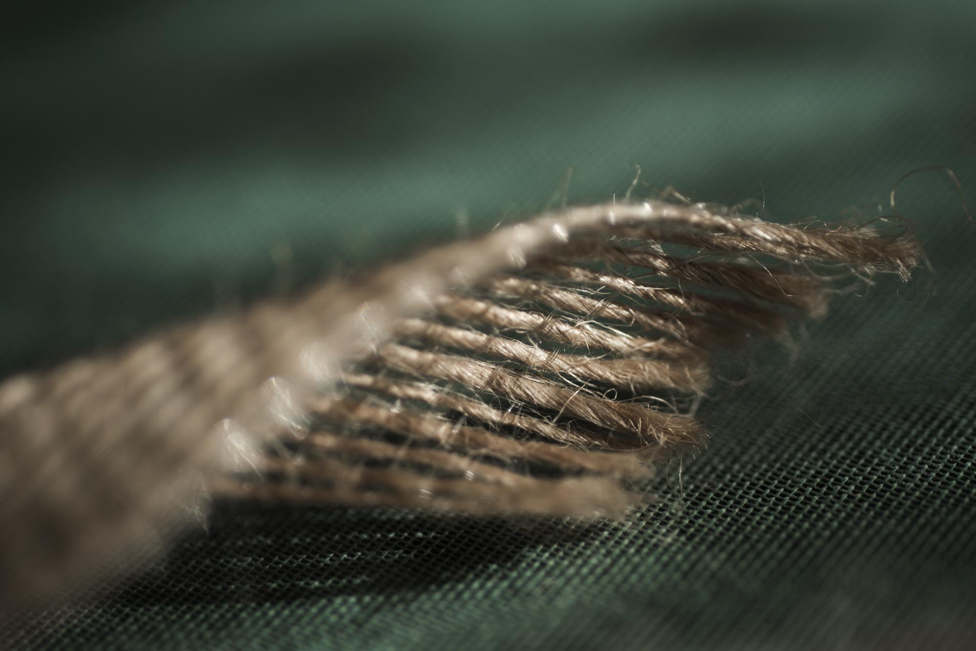Lazo de lino natural