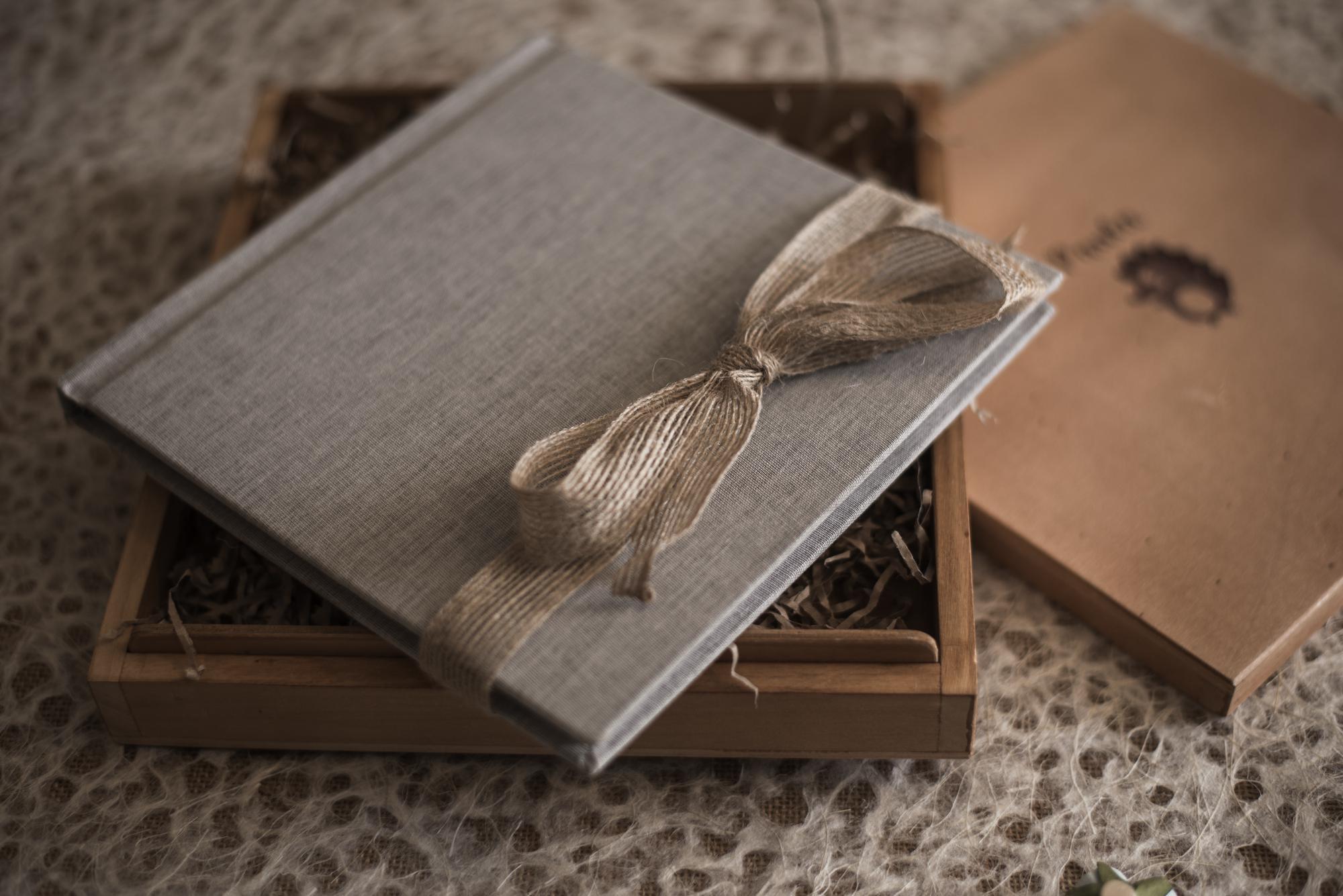 Caja de pino formato naturalBaby